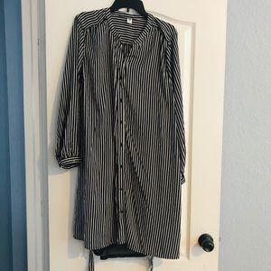 Old navy striped tie dress